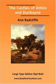 Cover of: The Castles of Athlin and Dunbayne | Ann Ward Radcliffe