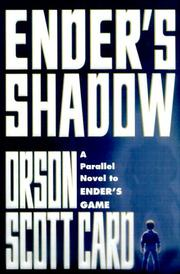 Cover of: Ender's Shadow | Orson Scott Card