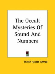 Cover of: The Occult Mysteries of Sound and Numbers | Sheikh Habeeb Ahmad