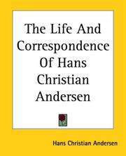 Cover of: The Life And Correspondence of Hans Chri | Hans Christian Andersen