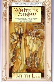 Cover of: White As Snow | Tanith Lee