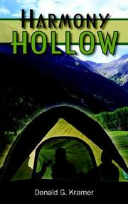 Cover of: HARMONY HOLLOW | Donald G. Kramer