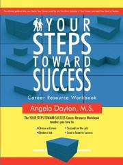 Cover of: Your Steps Toward Success | Angela Dayton