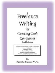 Cover of: Freelance Writing for Greeting Card Companies | Patrisha Stauss M.A.