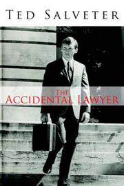 Cover of: The Accidental Lawyer by Ted Salveter