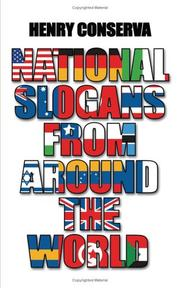 Cover of: National Slogans From Around the World by Henry Conserva