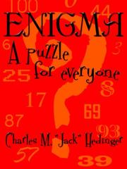 Cover of: ENIGMA by Charles, M. Hedinger