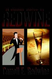 Cover of: A Small Taste of Redwine | Carroll, E. Redwine