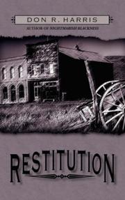 Cover of: Restitution | Don R. Harris