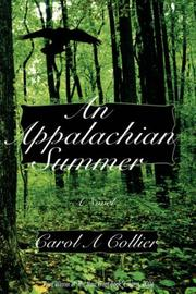 Cover of: An Appalachian Summer by Carol, A Collier