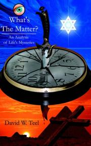 Cover of: What's The Matter? | David, W. Teel