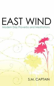 Cover of: EAST WIND | S.M. Captain