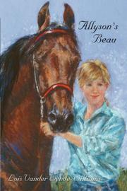 Cover of: Allyson's Beau by Lois, Vander Wende-Williams