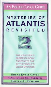 Cover of: Mysteries of Atlantis revisited | Edgar Evans Cayce