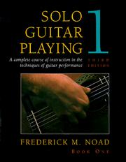 frederick noad solo guitar playing download pdf