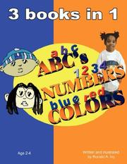 Cover of: ABC's NUMBERS COLORS by Ronald, A. Ivy
