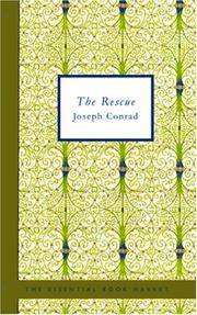 Cover of: The rescue | Joseph Conrad