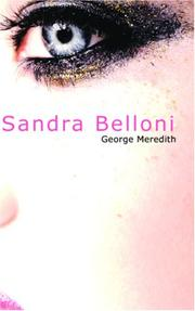 Cover of: Sandra Belloni | George Meredith
