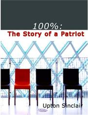 Cover of: 100% by Upton Sinclair