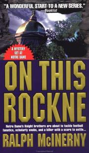 Cover of: On This Rockne by Ralph McInerny