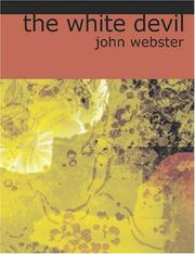 Cover of: The White Devil | John Webster