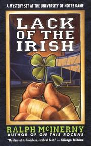 Cover of: Lack of the Irish | Ralph McInerny