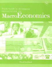 Cover of: Principles of MacroEconomics | Fred Gottheil