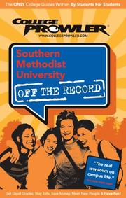 Cover of: Southern Methodist University 2007 | Stacy M. Seebode