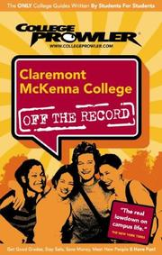 Cover of: Claremont McKenna College by Dana Almdale