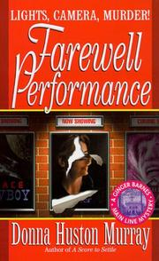 Cover of: Farewell performance by Donna Huston Murray