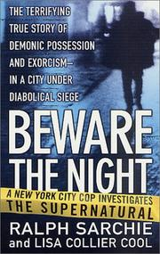 Cover of: Beware the night | Ralph Sarchie