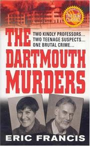 Cover of: The Dartmouth murders | Eric Francis