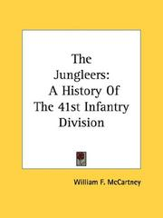 Cover of: The Jungleers | William F. McCartney