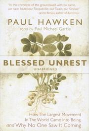 Cover of: Blessed Unrest | Paul Hawken