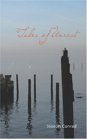 Cover of: Tales of unrest by Joseph Conrad
