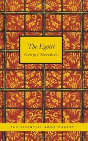 Cover of: The Egoist | George Meredith