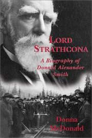 Cover of: Lord Strathcona by Donna McDonald