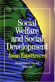 Cover of: Social Welfare and Social Development | Enid Hill