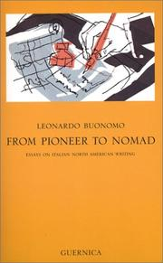 Cover of: From pioneer to nomad by Leonardo Buonomo