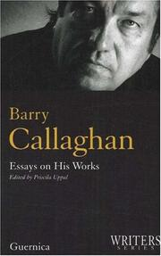 Cover of: Barry Callaghan by Priscila Uppal