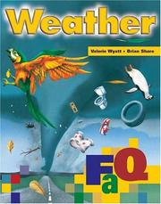 Cover of: Weather (FAQ) | Valerie Wyatt