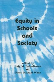 Cover of: Equity in Schools and Society by Judy Iseke-Barnes