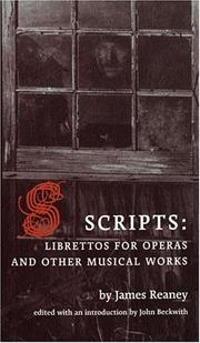 Cover of: Scripts | James Reaney