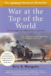Cover of: War at the top of the world | Eric S. Margolis