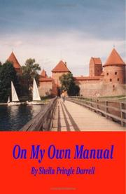 Cover of: On My Own Manual by Sheila Darrell