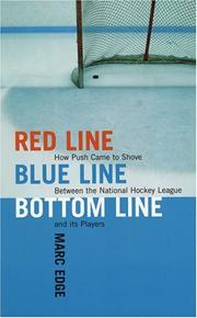 Cover of: Red Line, Blue Line, Bottom Line by Marc Edge