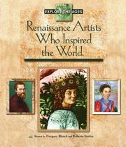 Cover of: Renaissance artists who inspired the world by Gregory Blanch