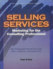 Cover of: Selling services | O'Neil, Paul