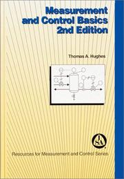 Cover of: Measurement and control basics | Thomas A. Hughes