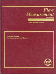 Cover of: Flow Measurement | David W. Spitzer